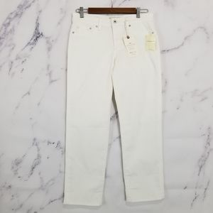 New Lucky Brand Sweet Crop mid rise Jeans